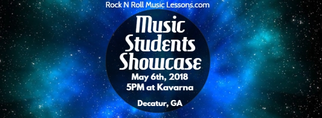 Spring 2018 Music Students Showcase Facebook Cover